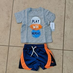 NWT Carter's Play Win Repeat Athletic Set - 9M